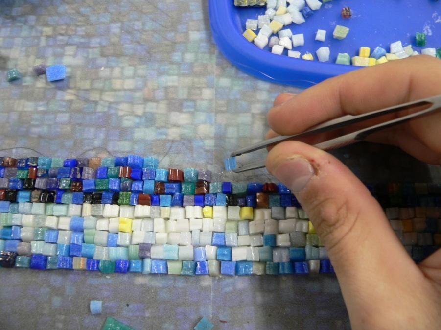 Как сделать картину мозаику