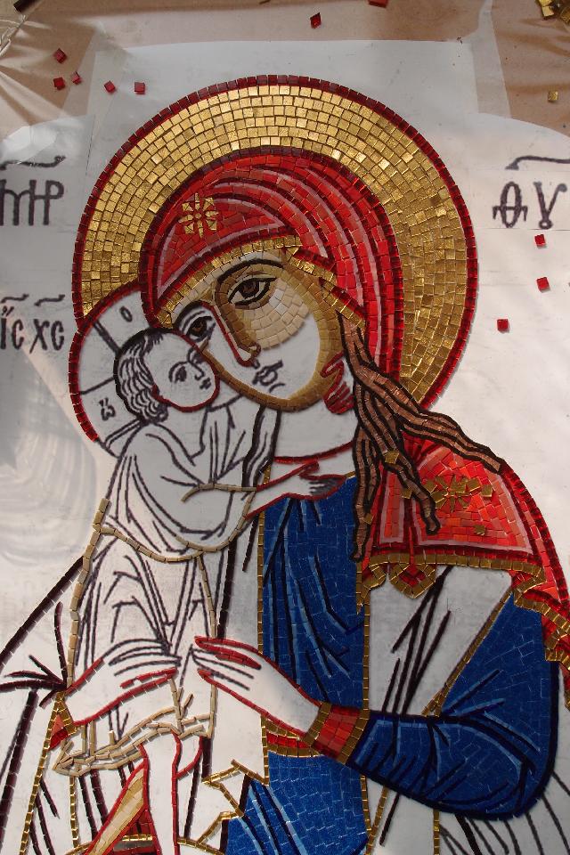 Икона из мозаики своими руками 13
