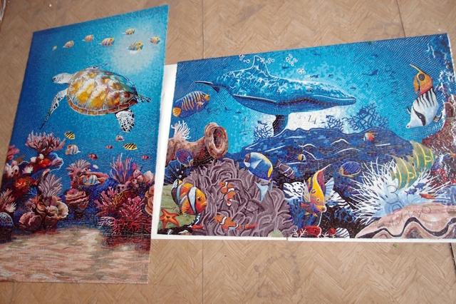 Панно на морскую тему фото