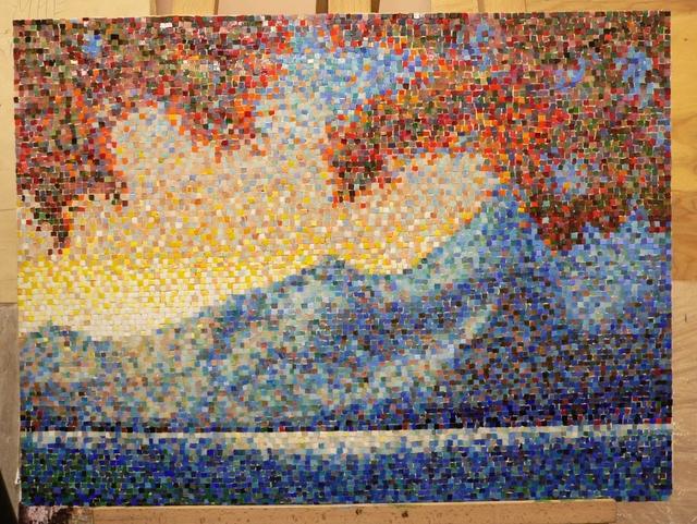 Ещё одна дипломная работа студента мозаика sicis на диплом