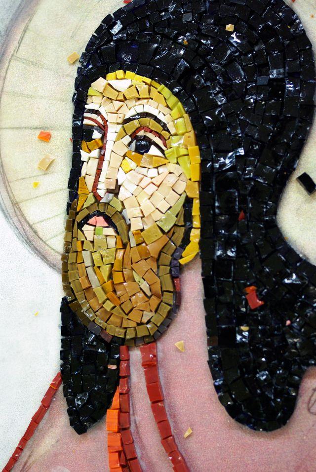 икона мозаика: